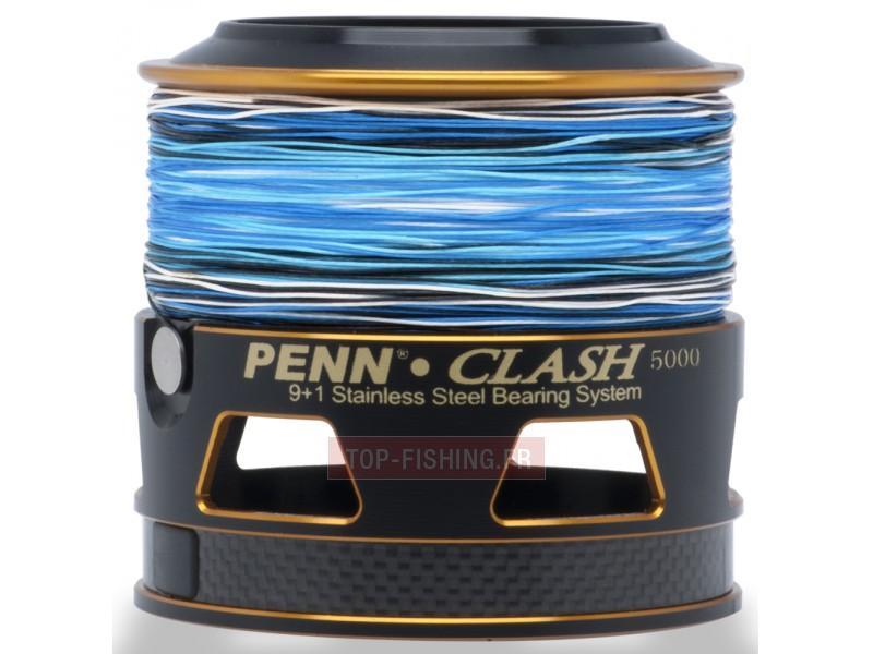 Vue 5) Moulinet Penn Clash