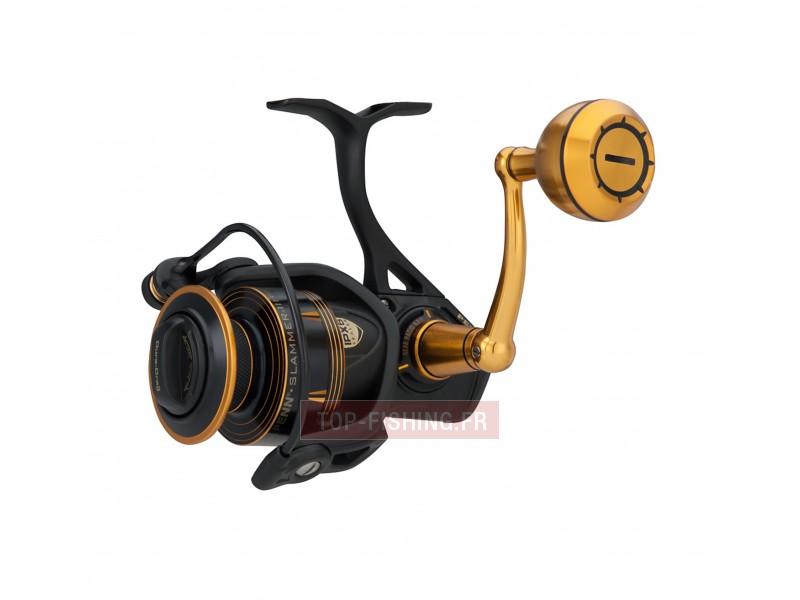 Vue 1) Moulinet Penn Slammer III Spinning