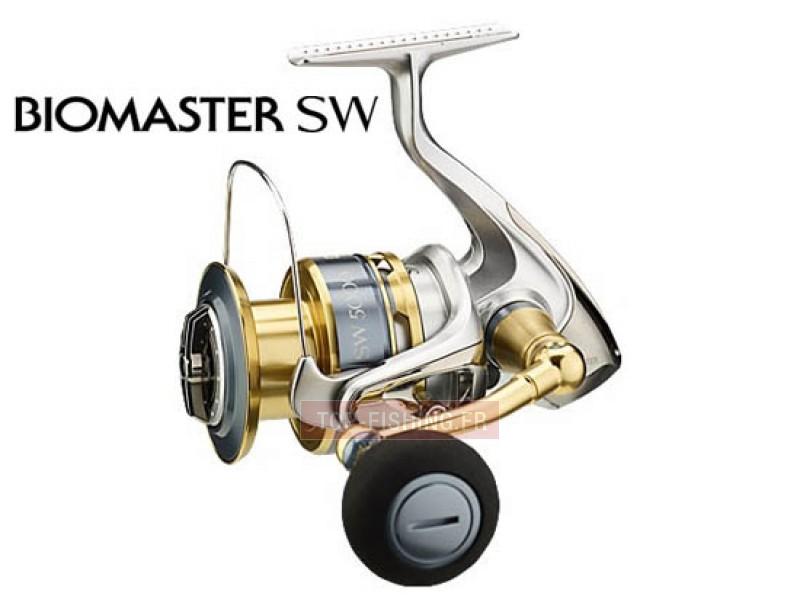Vue 1) Moulinet Shimano Biomaster SW-A