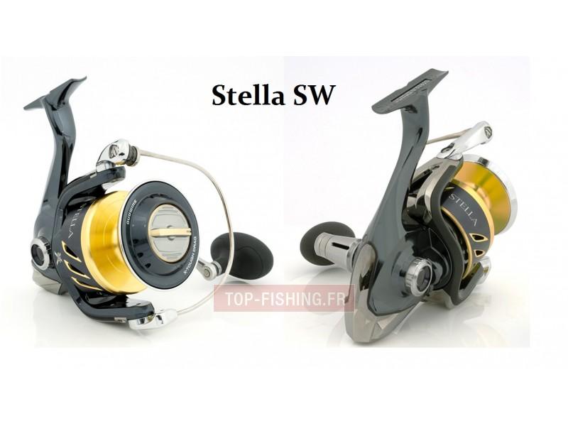 Vue 1) Moulinet Shimano Stella SW 2013