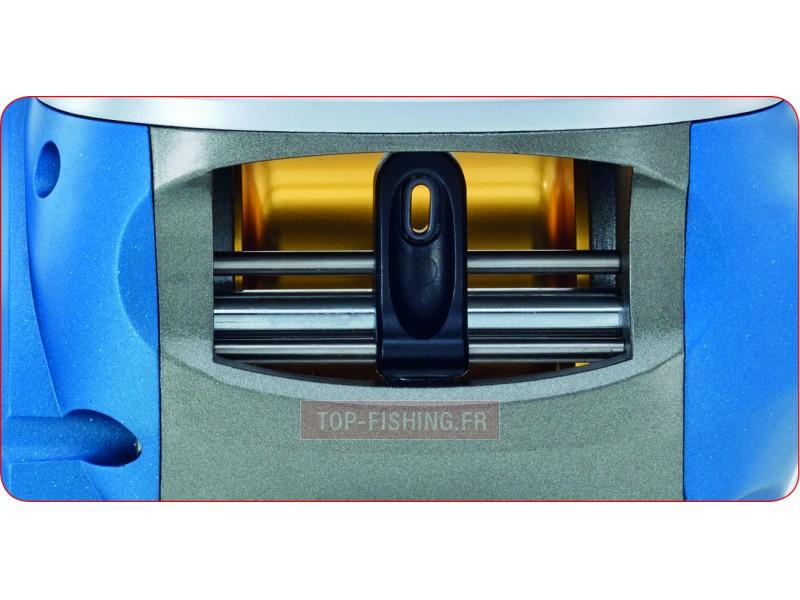Vue 2) Moulinet WFT Digital Line Counter - compteur métrique digital