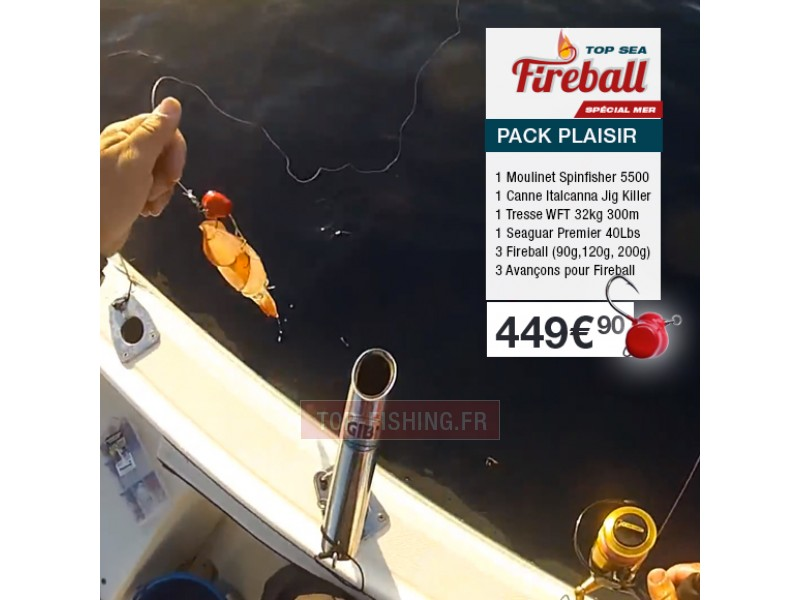 Pack Plaisir Fireball