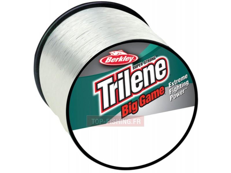 Vue 1) Nylon Berkley Trilene Big Game - Transparent