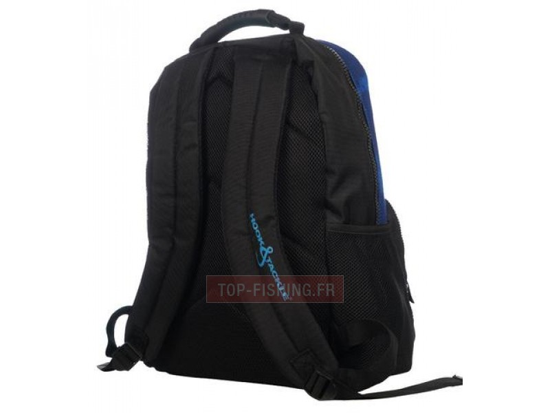 Vue 2) SAC A DOS HOOK & TACKLE BULL DOLPHIN NEGRA