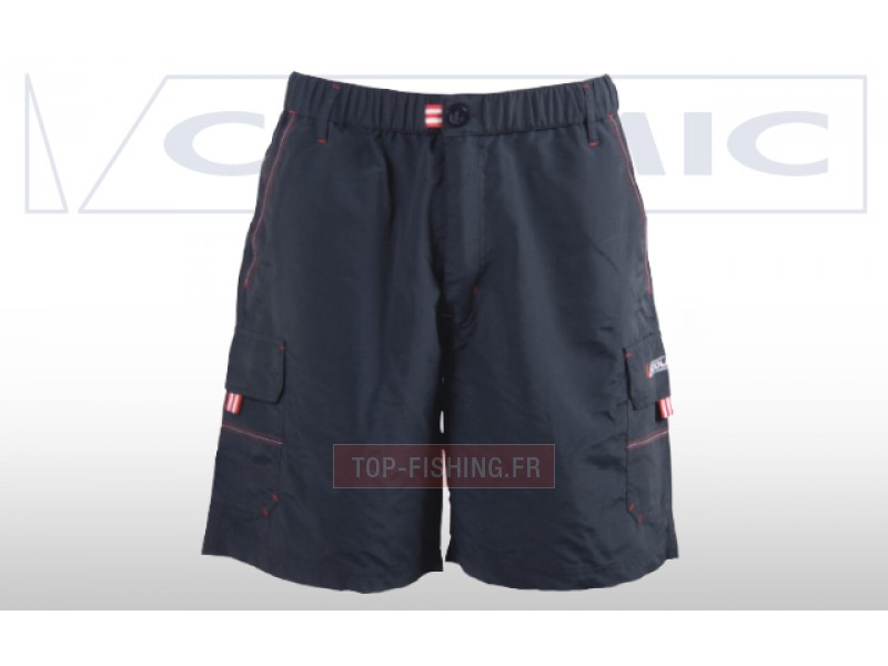 Short colmic estivo bleu combinaison pour p che colmic for Best fishing shorts