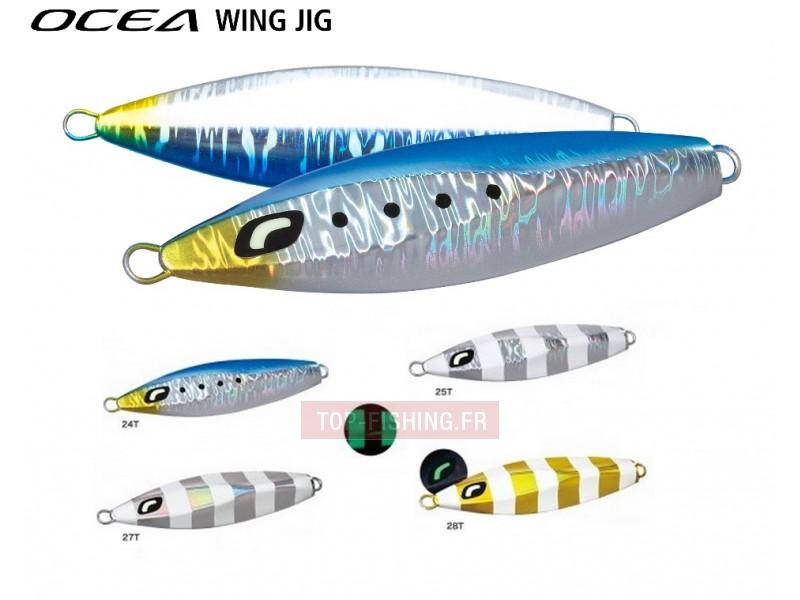 Vue 1) Slow Jig Ocea Butterfly Wing 160gr