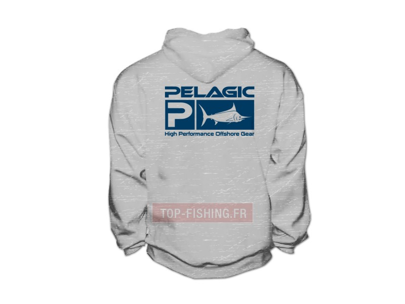 Vue 2) Sweat Pelagic Deluxe Hoody