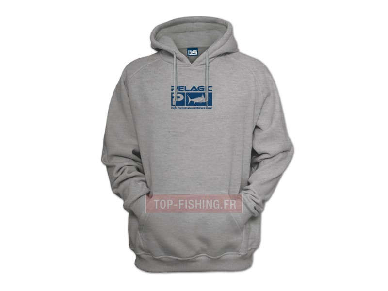 Vue 1) Sweat Pelagic Deluxe Hoody