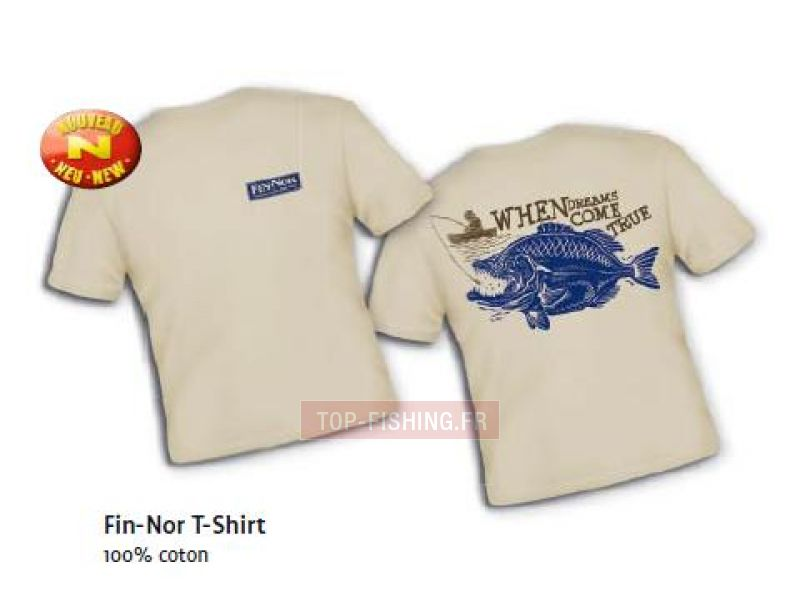 Vue 1) T-Shirt Fin-Nor manches courtes When Dreams