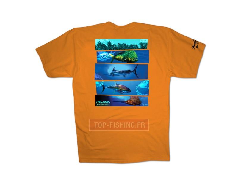 Vue 1) T-Shirt Pelagic OCP Panorama Tee
