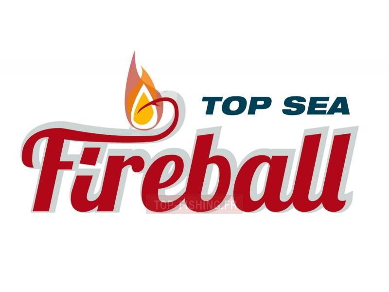 Vue 2) Tête Plombée Top Sea Fireball