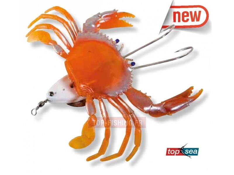 Vue 1) Top Sea Plancha Crab