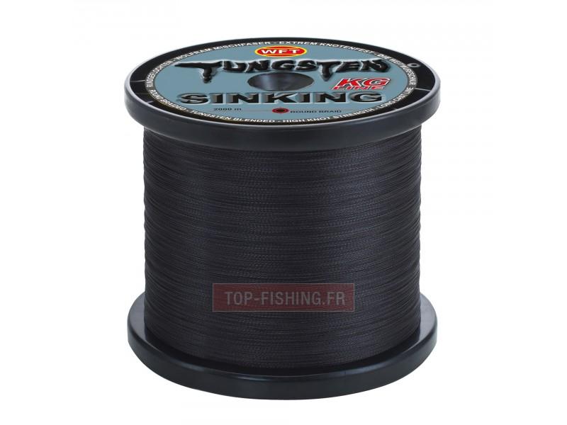 Vue 1) Tresse WFT KG Tungsten Sinking 2000m