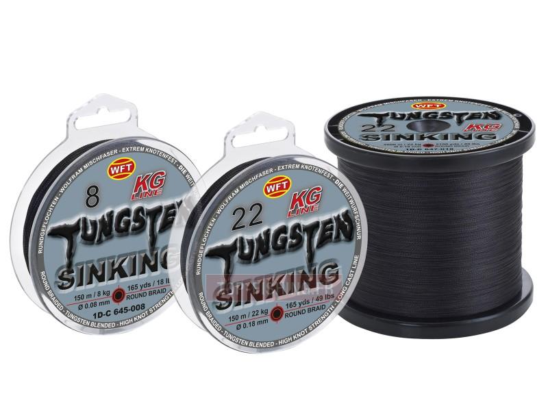 Vue 2) Tresse WFT KG Tungsten Sinking 2000m