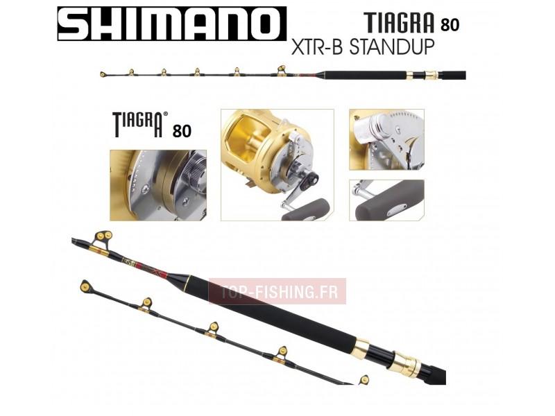 Vue 1) Tuna Pack Shimano Tiagra 80Lbs