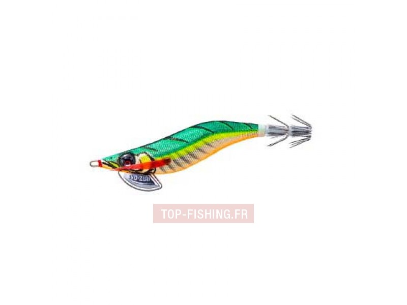 Vue 4) Turlutte Yo-Zuri Pata Pata-Q 100mm #3.0