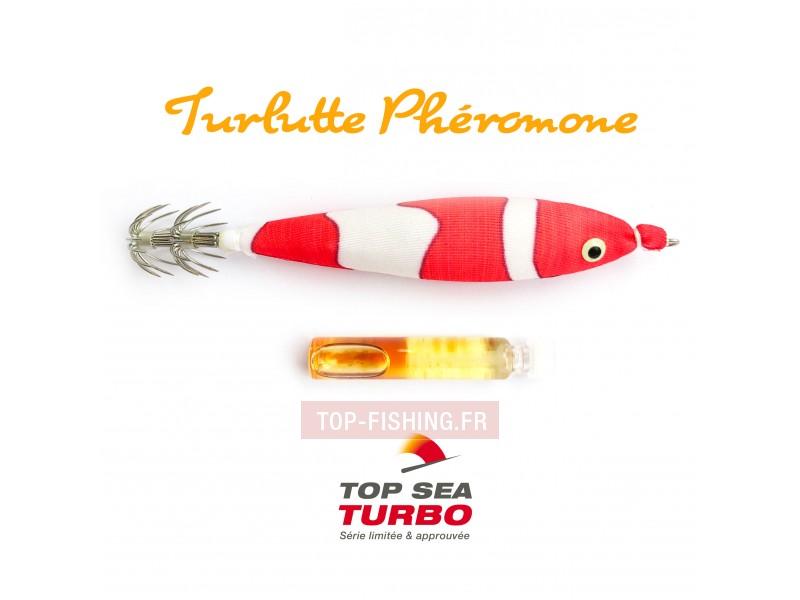 Vue 1) Turlutte Top Sea Turbo Phéromone