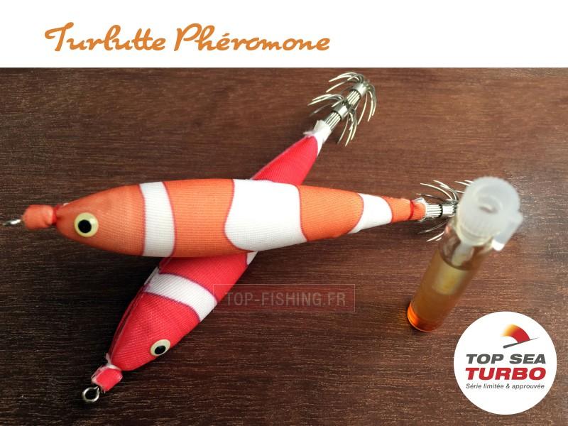 Vue 3) Turlutte Top Sea Turbo Phéromone