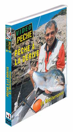 Vue 1) DVD Pêche à la dérive en bateau