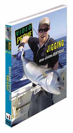 Vue 1) DVD Pêche au Jig