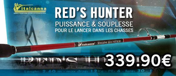 Canne Italcanna Red's Hunter