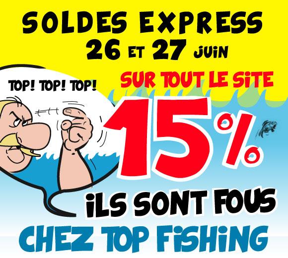 Soldes sur les pêches -15%