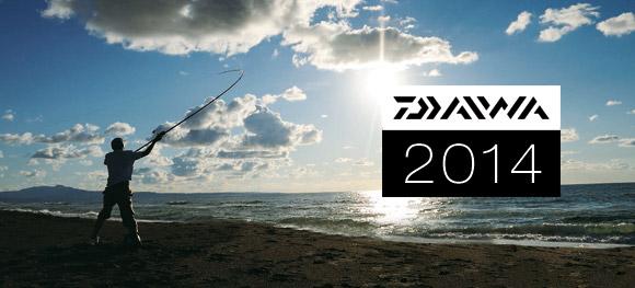 Tout le catalogue Daiwa 2014 est en ligne