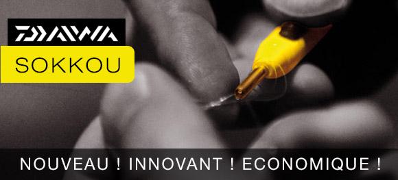 Sokkou Daiwa, le nouvel outil de raccord innovant et pratique
