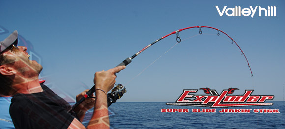 Essai de la Valley Hill Exploder Super Slide Slick Slaver II, des cannes jigging d'exception !