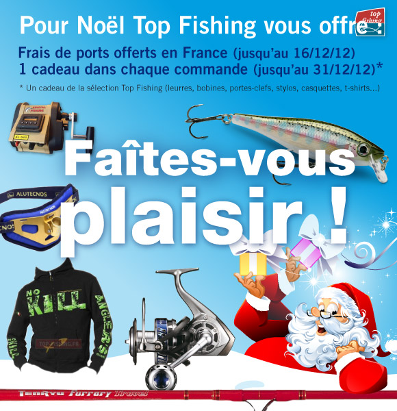 Noël 2012 sur Top Fishing