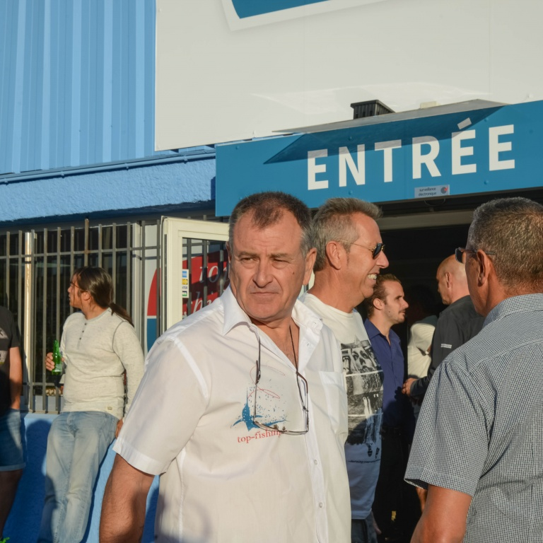 Philipe Audric, gérant du nouveau magasin Top Fishing Var