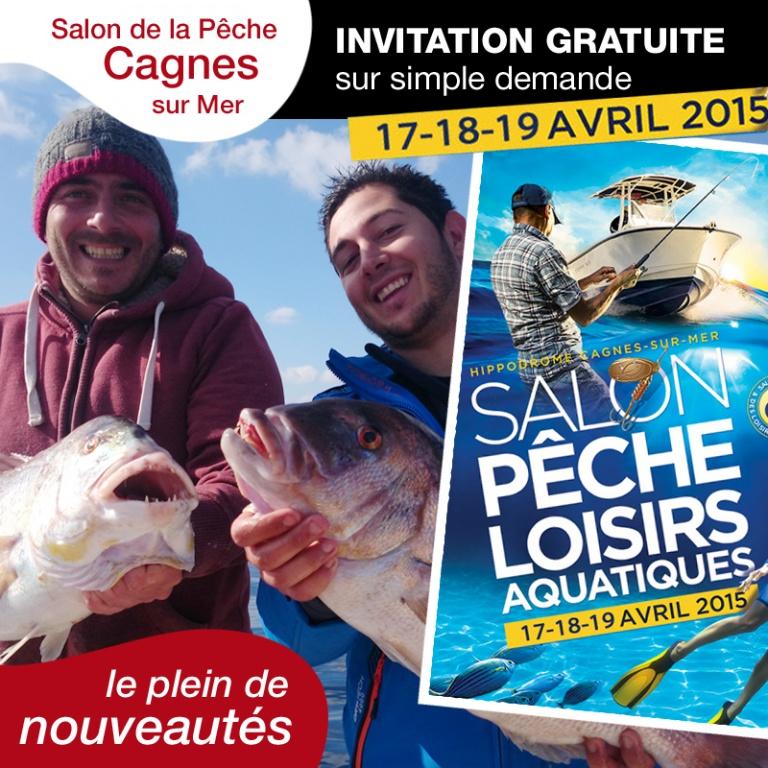 Newsletter top fishing n 83 du 14 avril 2015 - Salon de l agriculture invitation gratuite ...
