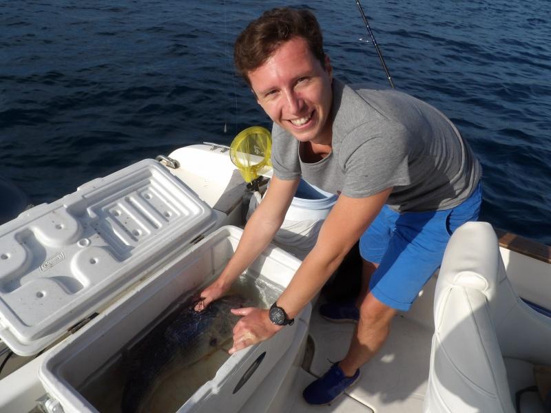 Comment p cher le denti au downrigger - Comment pecher dans un port ...