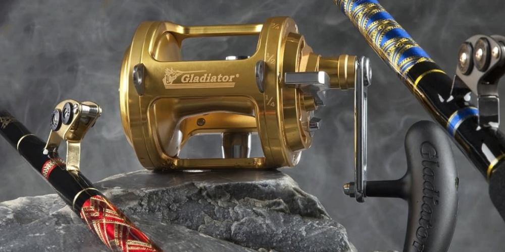Moulinet Gladiator et Canne Italiana Luxor