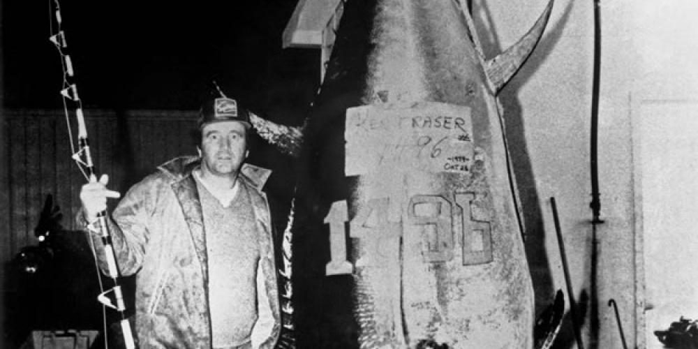 Ken Fraser et son plus record dans la pêche au thon