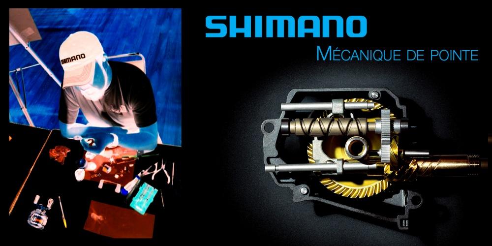 Shimano, l'expert de la mécanique vélo et moulinet