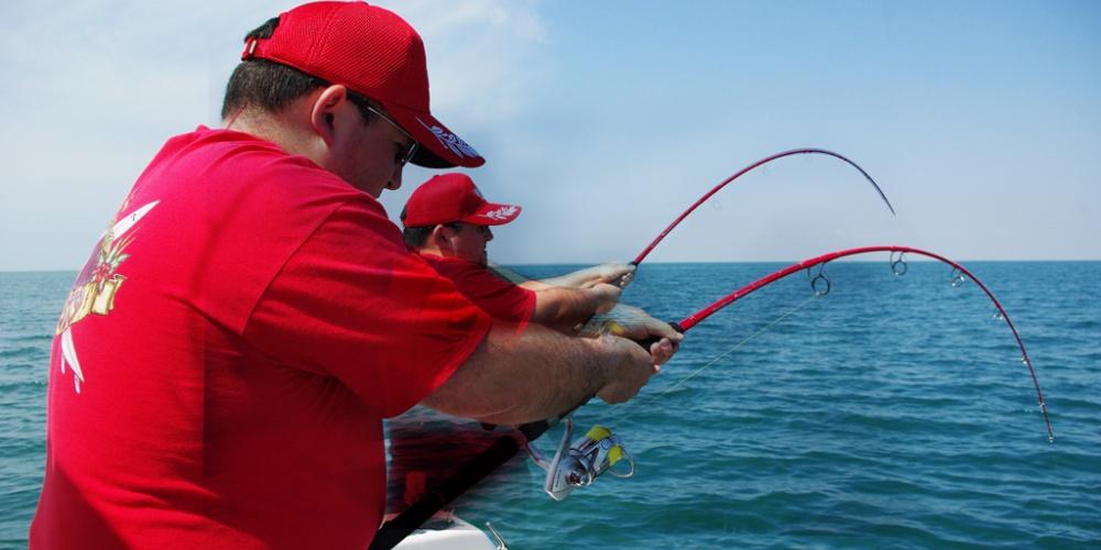 Cyril pêche au thon en spinning avec une Tenryu