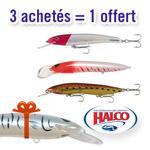 Pack Halco Sorcerer 4 leurres
