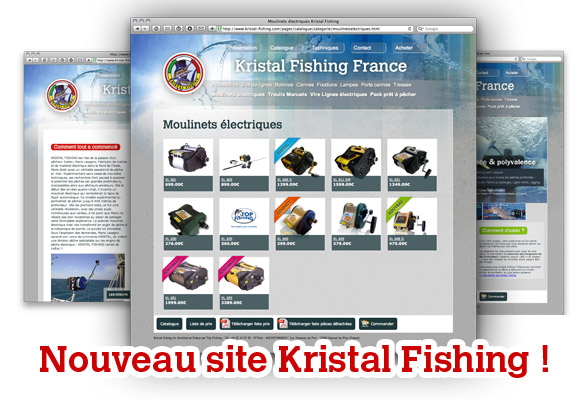 Nouveau site Kristal Fishing