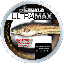 Photos de Fil Nylon Okuma Ultramax Silure - Marron