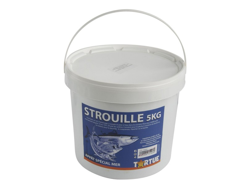 Amorce Tortue Strouille 5kg
