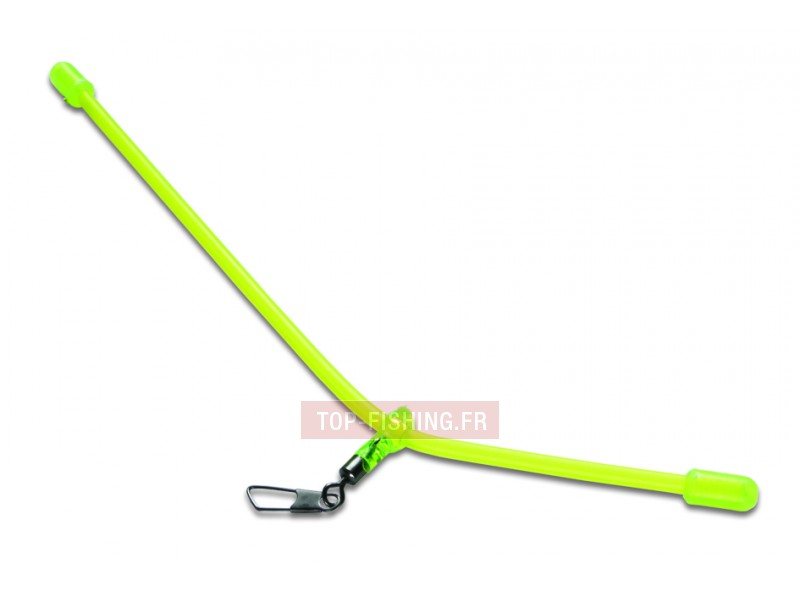 Anti-Tangle Mustad Fluo Incurve - 15 cm