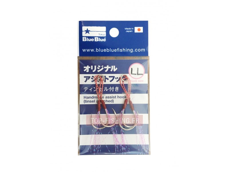 Assist Hooks BlueBlue Slow Jig