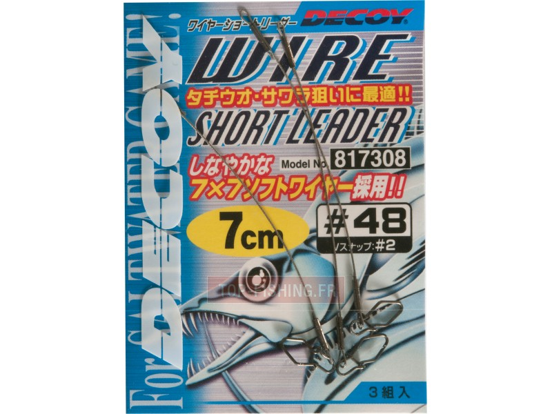 Bas de ligne Decoy Wire Short Leader