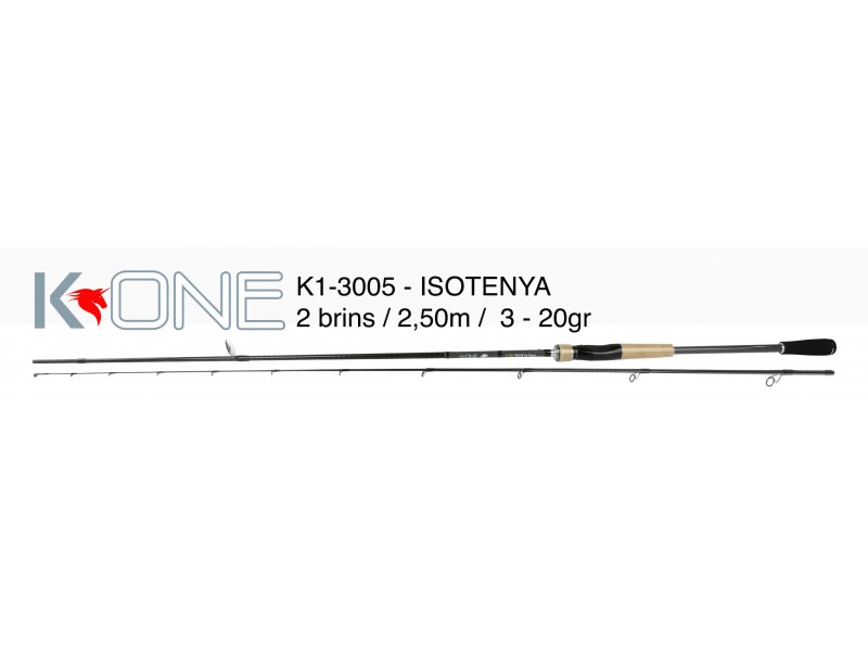 Canne Pescanautic K-One-3005 Hybrid Isotenya