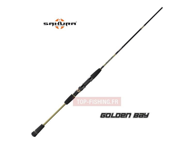 Canne Sakura Golden Bay Spinning - Monobrin