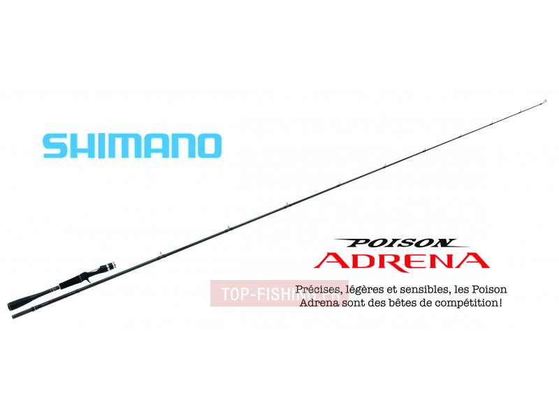 Canne Shimano Poison Adrena Casting