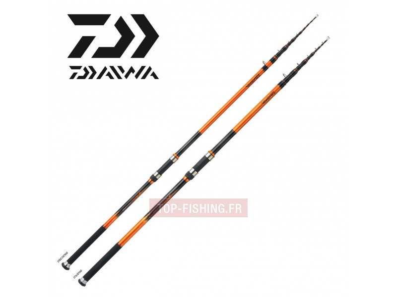 Canne Surf Télescopique Daiwa Crossfire Télé Surf