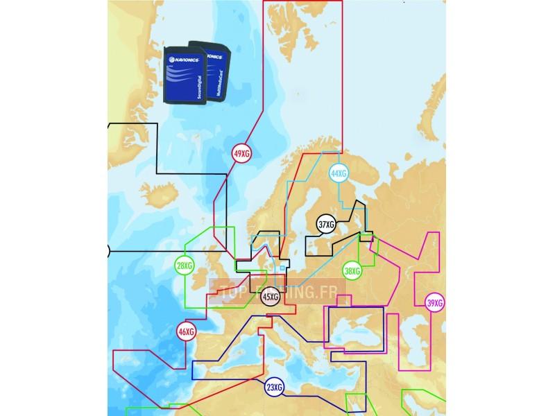 Carte Navionics Australie.Cartographie Navionics Gold Xl9 Format Sd Cartographie