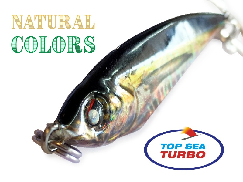 Casting Jig Top Sea Turbo Natural Color 30